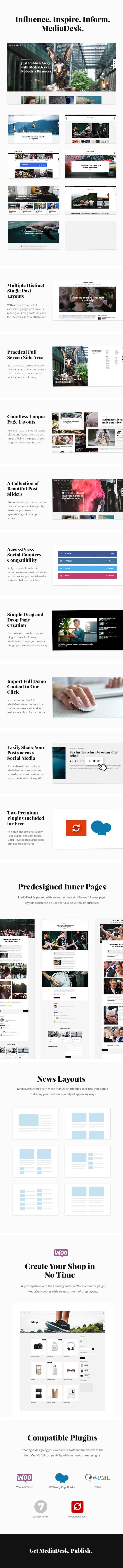 MediaDesk - Magazine WordPress Theme - 1